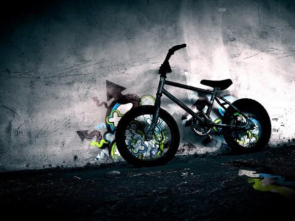 Download High Quality Bike Full Hd Wallpaper In Widescreen: Meu Papel De Parede Grátis