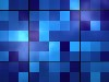 Free Abstract Wallpaper : Blue Tiles