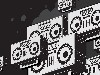 Free Abstract Wallpaper : Boombox