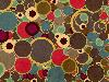 Free Abstract Wallpaper : Brown Circles