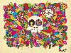 Free Abstract Wallpaper : Calaveras Mexicanas