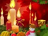 Free Abstract Wallpaper : Christmas - Candles