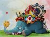 Free Abstract Wallpaper : Circus