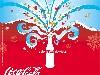 Free Abstract Wallpaper : Coke - Xmas