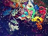 Free Abstract Wallpaper : Cosmic Free