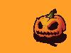 Free Abstract Wallpaper : Halloween Pumpkin
