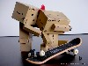 Free Abstract Wallpaper : Danbo - Skate Lovers