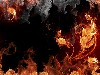 Free Abstract Wallpaper : Elemental Fire