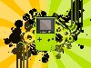 Free Abstract Wallpaper : Gameboy Color