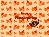 Free Abstract Wallpaper : Happy Thanksgiving