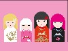 Free Abstract Wallpaper : Kimmi Dolls