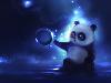 Free Abstract Wallpaper : Lil Panda