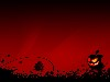 Free Abstract Wallpaper : Red Mac Halloween