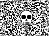 Free Abstract Wallpaper : Skulls
