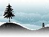 Free Abstract Wallpaper : Snow Powder