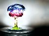 Free Abstract Wallpaper : Water Explosion