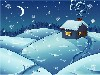 Free Abstract Wallpaper : Christmas - Cottage