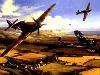Free Artistic Wallpaper : Air War Europe