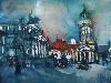 Free Artistic Wallpaper : Andreas Mattern - Gendarmenmarkt