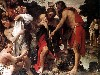 Free Artistic Wallpaper : Annibale Carracci - The Baptism of Christ