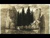 Free Artistic Wallpaper : Arnold Bocklin - Toteninsel
