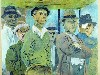 Free Artistic Wallpaper : Ben Shahn - Unemployed