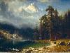 Free Artistic Wallpaper : Bierstadt - Mount Corcoran