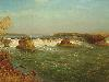 Free Artistic Wallpaper : Bierstadt - The Falls of Saint Anthony
