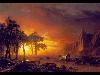 Free Artistic Wallpaper : Bierstadt