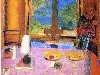 Free Artistic Wallpaper : Bonnard - Dining Room on the Garden