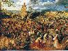 Free Artistic Wallpaper : Brueghel - Christ Carrying the Cross
