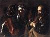 Free Artistic Wallpaper : Caravaggio - Negazione di San Pietro