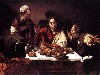 Free Artistic Wallpaper : Caravaggio - Supper at Emmaus