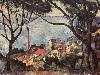 Free Artistic Wallpaper : Cezanne - The Sea at L'Estaque