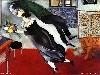 Free Artistic Wallpaper : Chagall - The Birthday
