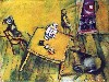 Free Artistic Wallpaper : Chagall - The Yellow Room