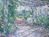 Free Artistic Wallpaper : Colin Campbell Cooper - Terrace at Samarkand Hotel