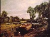 Free Artistic Wallpaper : Constable - Boat Building