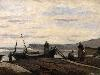 Free Artistic Wallpaper : Corot - Port