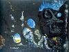 Free Artistic Wallpaper : Salvador Dali - Melancholy, Atomic, Uranic Idyll