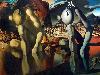 Free Artistic Wallpaper : Dali - Metamorphosis of Narcissus
