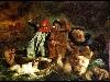 Free Artistic Wallpaper : Delacroix - Dante and Virgil