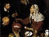 Free Artistic Wallpaper : Diego Velazquez - Old Woman Cooking Eggs