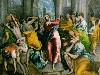 Free Artistic Wallpaper : El Greco - Christ Driving the Traders from the Temple