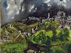 Free Artistic Wallpaper : El Greco - Toledo