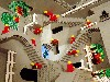 Free Artistic Wallpaper : Escher (in LEGO!)