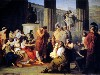 Free Artistic Wallpaper : Francesco Hayez - Odysseus in the Court of Alcionous