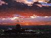 Free Artistic Wallpaper : Frederick Church - Beacon off Mount Desert Island