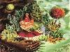 Free Artistic Wallpaper : Frida Kahlo - Abrazo Amoroso