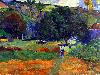Free Artistic Wallpaper : Gauguin - the Little Valley